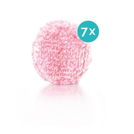 JEMAKO Abschmink-Pads pink 7er-Nachfüllpack