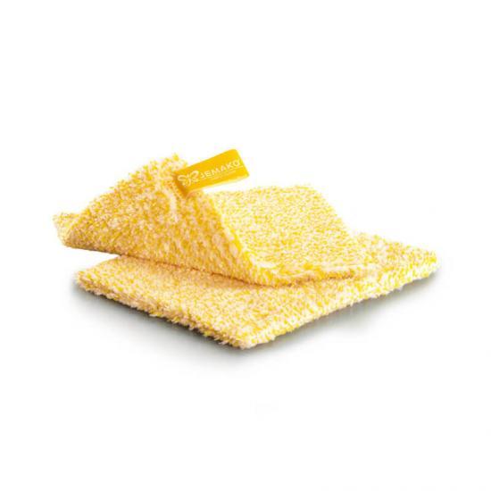 JEMAKO DuoTuch klein 18 x 14 cm gelb 2er Pack