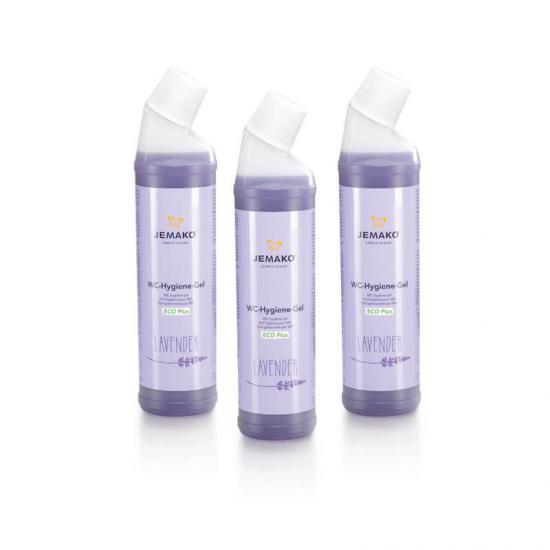 JEMAKO WC-Hygiene-Gel Lavendel 3er Pack