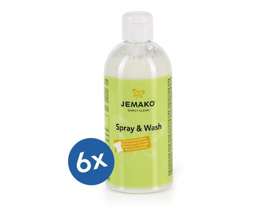 JEMAKO Spray & Wash 500 ml/6er VE