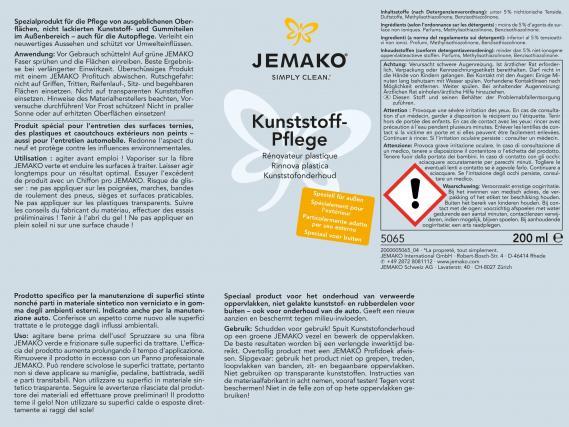 Jemako kunststoff pflege set franzis putzwelt jemako - Pflege kunststoff fensterrahmen ...