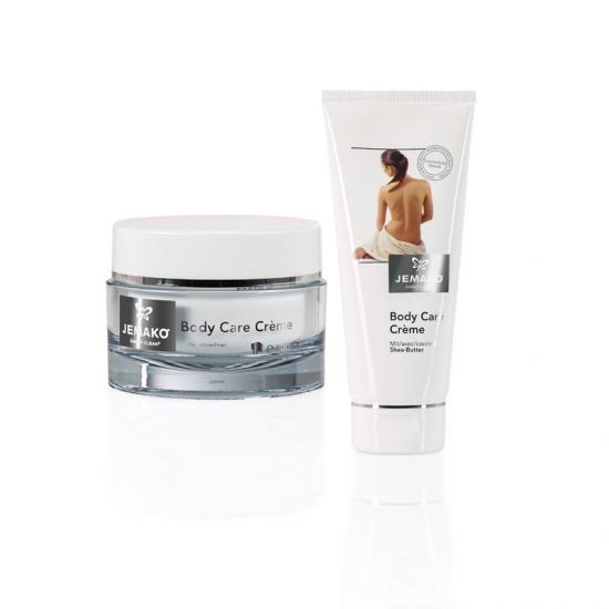 JEMAKO Body Care Creme Tiegel + Gratis 200 ml-Tube